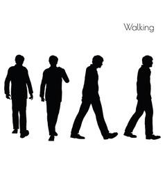 Man in Walking pose vector
