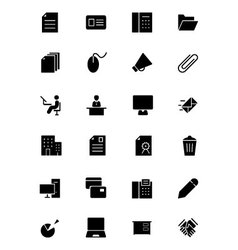 Office Icons 2 vector