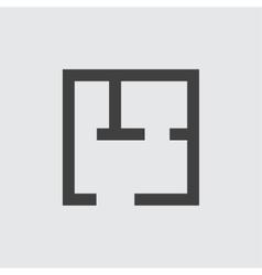 Plan icon vector