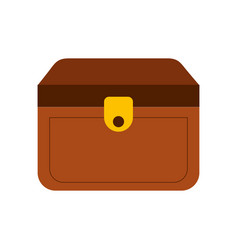 wooden trunk isolated icon vector image