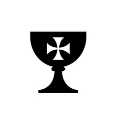 holy grail cup vector image vector image