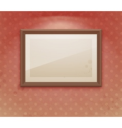 exhibition vintage dot vector image