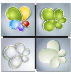 Abstract concept multicolored background vector image vector image