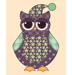 Application owl 3 vector image