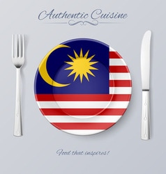 Authentic cuisine vector