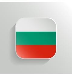 Button - Algeria Flag Icon vector