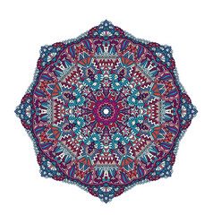 festive colorful mandala vector image
