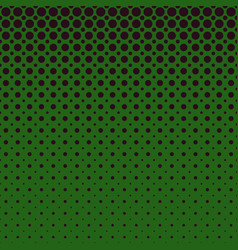 green geometrical halftone dot pattern background vector image