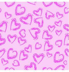 Heart leopard vector