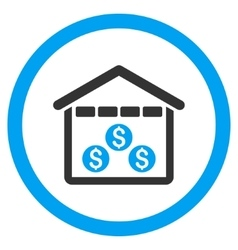 Money Depository Rounded Icon vector