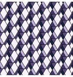 Purple rhombs pattern Geometric abstract vector