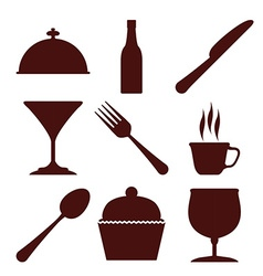 Restaurant digital design vector image