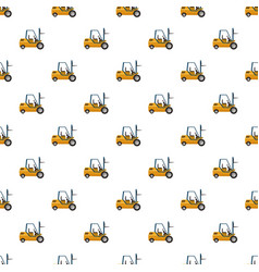 Stacker loader pattern vector