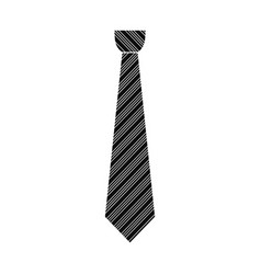 Tuxedo tie icon simple style vector