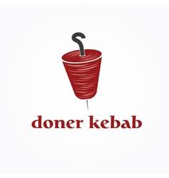 Doner kebab vector
