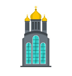 eastern church icon flat style vector image
