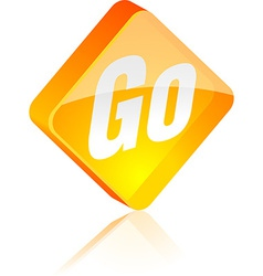 Go button vector