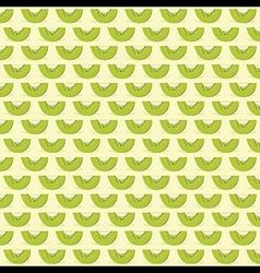 kiwi fruit pattern background design vector image