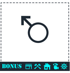 male icon flat vector image