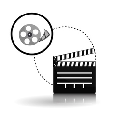 Movie design Cinema concept Film vector image