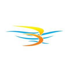 Ocean logo vector