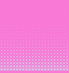 pink halftone circle pattern background vector image