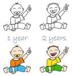 Babys vector image vector image
