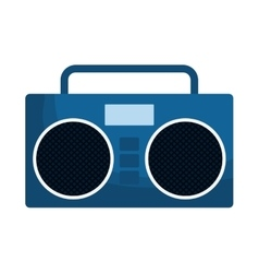 Boom box icon image vector
