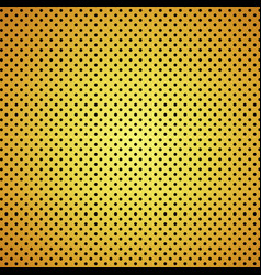 Gold carbon fiber texture background vector