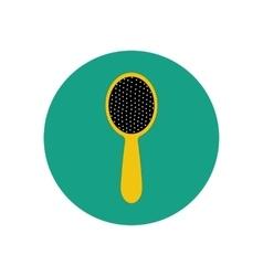 Hair brush vector image