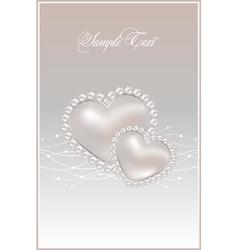 Pastel pearls vector