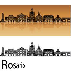 Rosario skyline vector