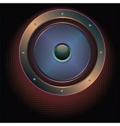Audio Speaker Icon2 vector image vector image