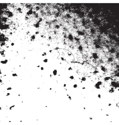 Messy Blotted Texture vector image vector image