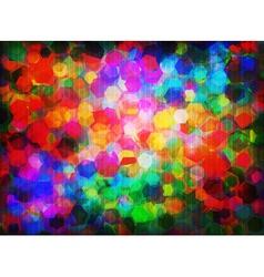 Spectral hexagons vector image