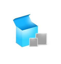 object box cpu vector image