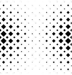 abstract black and white square pattern vector image