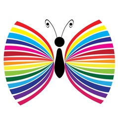 abstract butterfly vector image