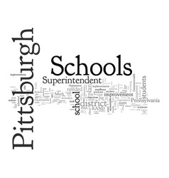 Are pittsburgh schools in trouble vector