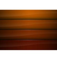 background orange stripe vector image