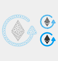 Ethereum refund mesh network model and vector
