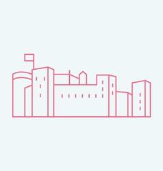 Festung Hohensalzburg vector image vector image