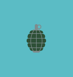 flat icon grenade element of vector image