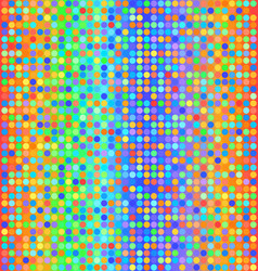 Glowing polka dot pattern seamless background vector