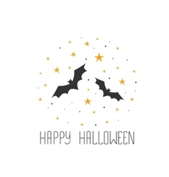 Happy Halloween message design background Sketchy vector