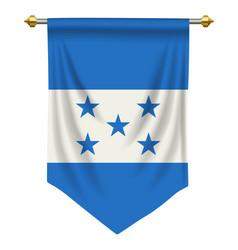 Honduras pennant vector