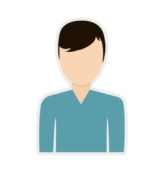 man male avatar person people icon graphic vector image vector image