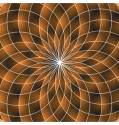 Mosaic spectrum color wheel vector image