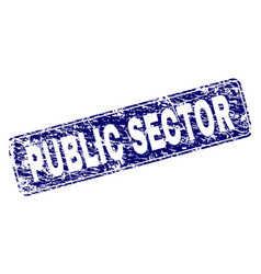 Scratched public sector framed rounded rectangle vector