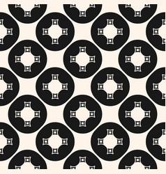 Simple ornamental geometric seamless pattern vector